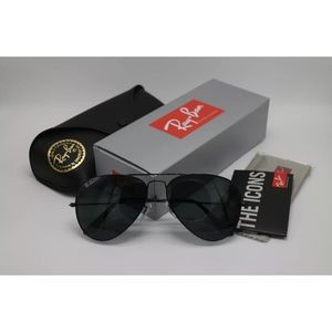 Ray-Ban Aviator Classic Black RB3025